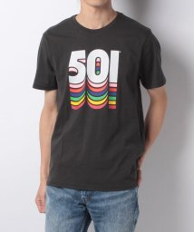 LEVI'S MEN/501(R) GRAPHIC TEE 501 FILLED PHANTOM GR/500599606