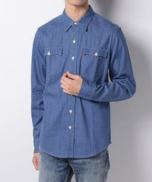 LEVI'S MEN/ORANGE TAB WORKSHIRT BABY BLUE DENIM OT/500599608