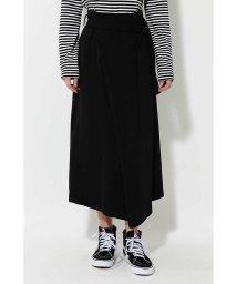 ROSE BUD/リボンベルトラップスカート/500613922