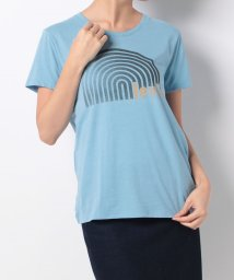 LEVI'S LADY/PERFECT GRAPHIC TEE RECORD DUSK BLUE SD/500599572
