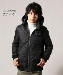 THE CASUAL/(スプ) SPU フェイクウールダイヤキルト中綿シンサレートフードジャケット/500616601
