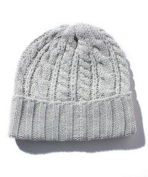 KOBE LETTUCE/ケーブルニット帽/500591106