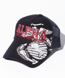 JNSJNM/【ALPHA】ツイルキャップ/500591464