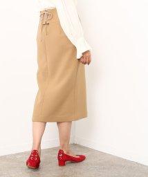 ROPE' mademoiselle/ダブルクロスミモレタイトスカート/500603699