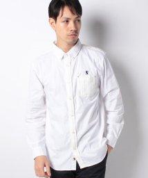 GIORDANOM/ニットブロッキングシャツ/500603830