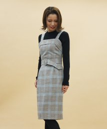 31 Sons de mode/ベルト付きジャンパースカート/500615839