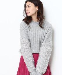 ViS/袖ループ編みプルオーバー/500617808