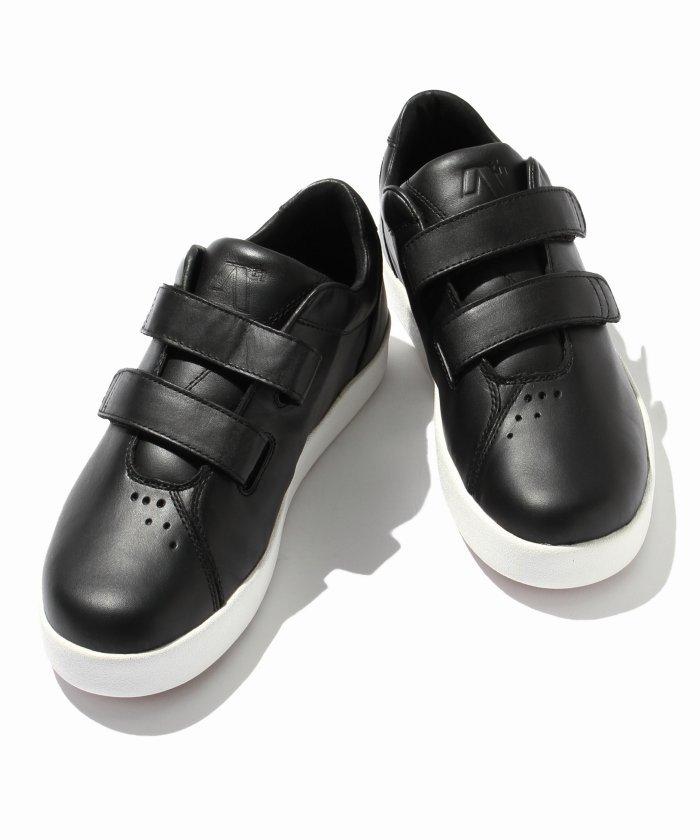 ARETH/アース:  I velcro / Black Leather