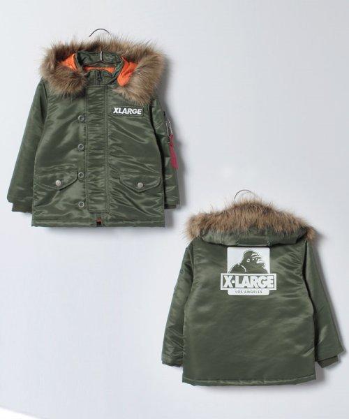 XLARGE KIDS(エクストララージ キッズ)/OG N‐3B ジャケット/9473301