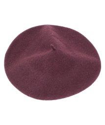 titivate/ウール混ベーシックベレー帽/500621034
