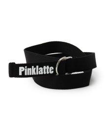PINK-latte/ロゴ入りリングベルト/500621659