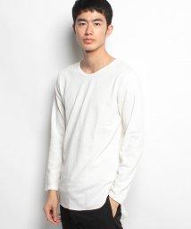 STYLEBLOCK/ロング丈長袖ワッフルTシャツ/500600763