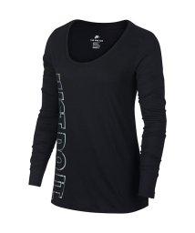NIKE/ナイキ/レディス/ナイキ ウィメンズ スクープ メタリック L/S Tシャツ/500624051
