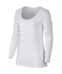 NIKE/ナイキ/レディス/ナイキ ウィメンズ スクープ メタリック L/S Tシャツ/500624052