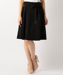 MISCH MASCH/【美人百花12月号掲載】刺繍装飾フレアースカート/500461951