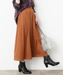 ViS/タックロングスカート/500625730