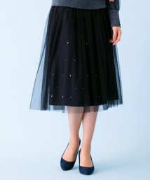 Leilian/チュール付スカート/500557466
