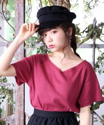 NICE CLAUP OUTLET/【one after another】でかクリップ付きショートTOPS/500595485
