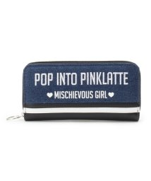 PINK-latte/バイカラーライン長財布/500628119