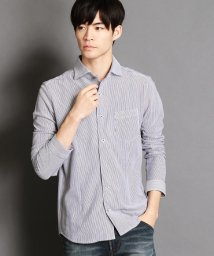 NICOLE CLUB FOR MEN/ホリゾンタルカラー長袖カットシャツ/500587765