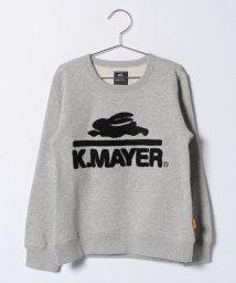 KRIFF MAYER(Kids)/ブランドロゴスウェットクルー(140〜160cm)/500603600