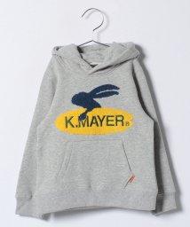 KRIFF MAYER(Kids)/Ptロゴプルパーカー(SURF)(110〜130cm)/500603601
