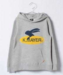 KRIFF MAYER(Kids)/Ptロゴプルパーカー(SURF)(140〜160cm)/500603602