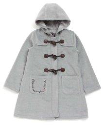 ALGY/ポケット刺繍ロングダッフル/500625909