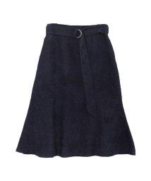 ur's/ベルト付裾フレアコーデュロイスカート/500629409