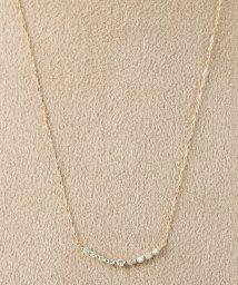 DECOUVERTE/18KYG 0.1ct ダイヤモンド ネックレス/500629433