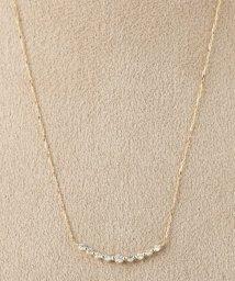 DECOUVERTE/18KYG 0.2ct ダイヤモンド ネックレス/500629434