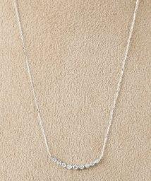 DECOUVERTE/18KWG 0.1ct ダイヤモンド ネックレス/500629435