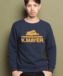 KRIFF MAYER/クルースウェット(ロゴ)/500603593