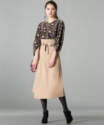 JIYU-KU /ハイカウントタフタ スカート/500631622