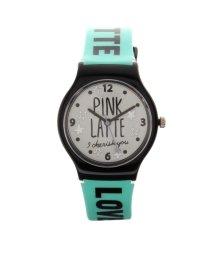 PINK-latte/ロゴベルトウォッチ/500632575
