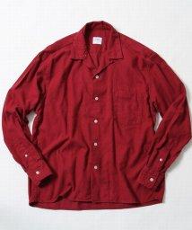 coen/ビエラ起毛ネルオープンカラーシャツ/500629174