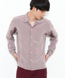 JUNRed/ドレープオープンカラーシャツ/500631995