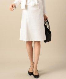 NIJYUSANKU/【セットアップ対応】ライトシャインツィード スカート/500633610