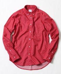 coen/ドットジャガードボタンダウンシャツ/500629173
