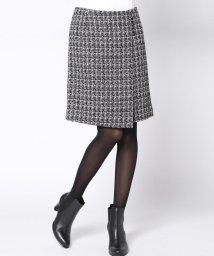 Viaggio Blu/【4サイズ展開】ボタン付きファンシー台形スカート/500635914