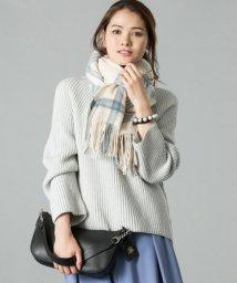 JIYU-KU /【洗える】パターンリブステッチ ニット/500639264