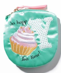 Afternoon Tea LIVING/イニシャルスパンコール刺繍ミニポーチ/500613090