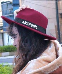 ANAP GiRL/ロゴテープハット/500624811
