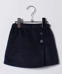 petit main/ラップ風ウール入りスカート/500629614