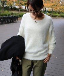 and Me.../シャギーニット トップス レディース ふわふわ セーター 長袖/500641652