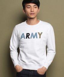 KRIFF MAYER/デニムコンビクルー(ARMY)/500627766