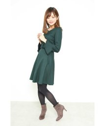 PROPORTION BODY DRESSING/【美人百花 12月号掲載】Newカラーサッシュフレアーワンピース/500628968