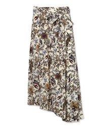 PROPORTION BODY DRESSING/《BLANCHIC》フラワーランダムヘムスカート/500630540