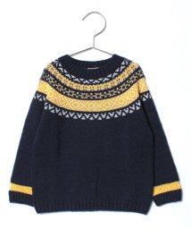 SENSE OF WONDER/ホールガーメントジャカードセーター/500630936