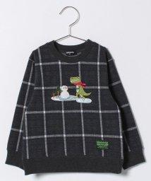 kladskap/スケーターザウルスチェックJQ長袖Tシャツ/500633058